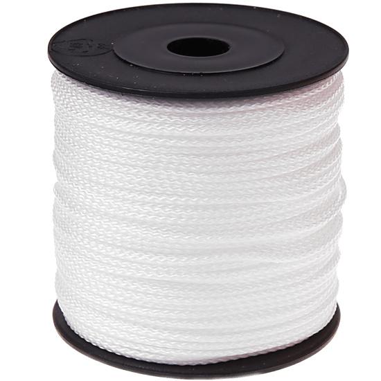 Nylon/polyester koord Wit