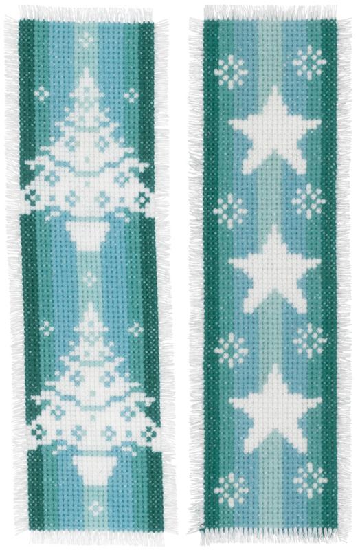 Bladwijzer Nordic Christmas set van 2