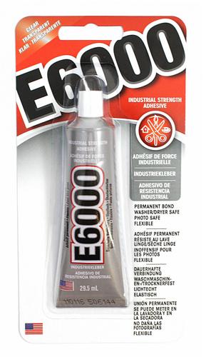 E6000 lijm 29,5ml