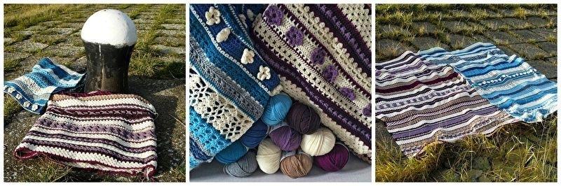 Pakket Catania voor deken versie Naomi versie blauw