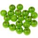 "Houten kraal 18 mm ""babyproof"" Licht groen"