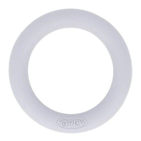 Opry siliconen bijtring 65mm kleur 006 Lichtgrijs