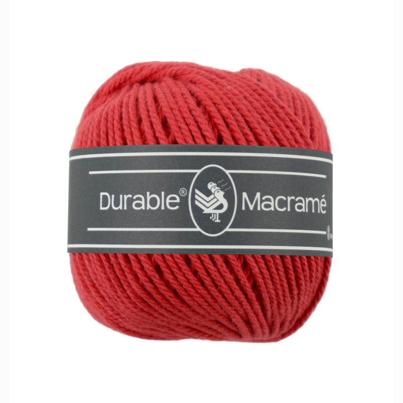Durable Macrame 316 Red