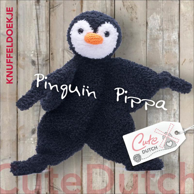 Patroonboekje Pinguïn Pippa knuffeldoekje