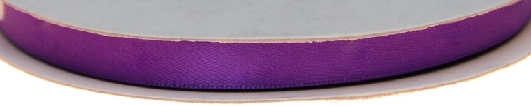 Dubbelzijdig satijnlint Paars 10 mm