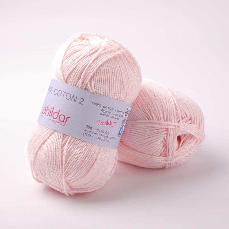 Phildar Coton 2 Rosee 0001