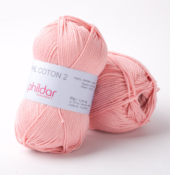 Phildar Coton 2 Rose saumon