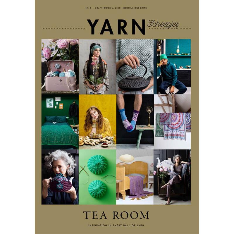 Scheepjes Yarn Bookazine Tea Room