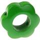 Houten bloemkraal groen  ''babyproof''