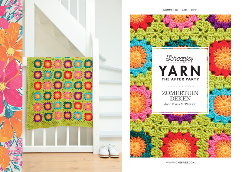Yarn, the after party Patroon Zomertuin deken nr 4 (kooppatroon)