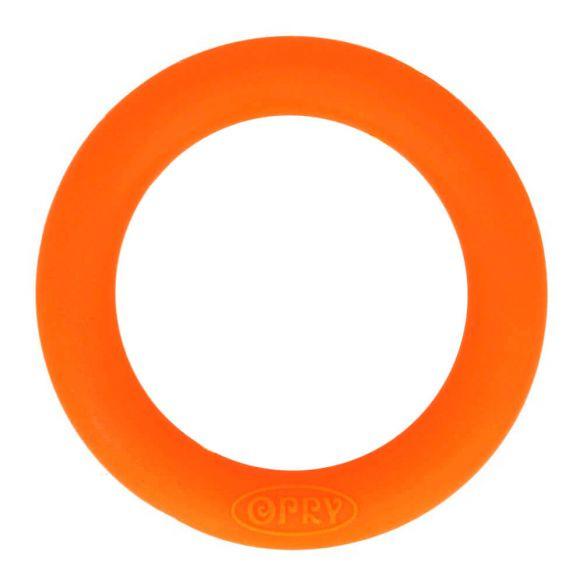 Opry siliconen bijtring 65mm kleur 693 Oranje