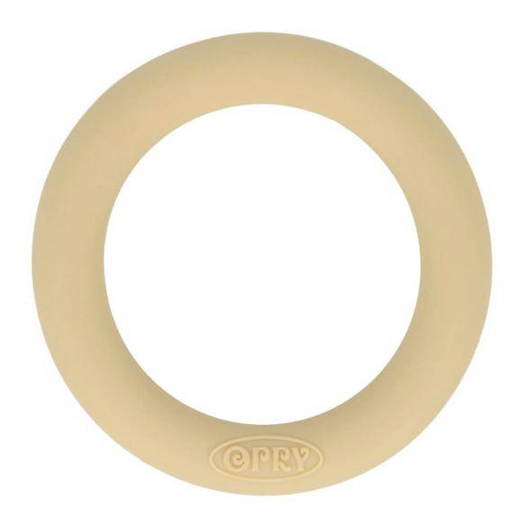 Opry siliconen bijtring 65mm kleur 886 Beigezand