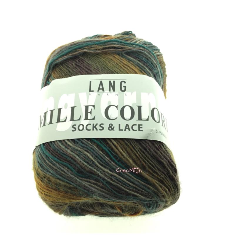 Lang Yarns Mille Color socks & lace 11