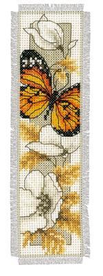 Bladwijzer Vlinders en Bloemen aida