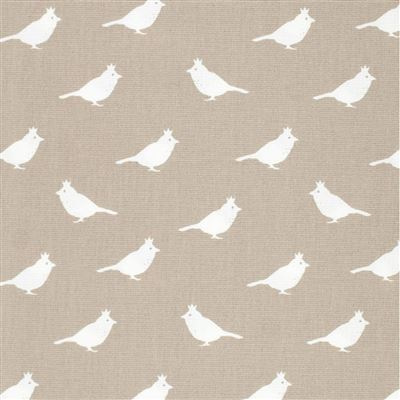 Lilian Z Canvas stof  vogels