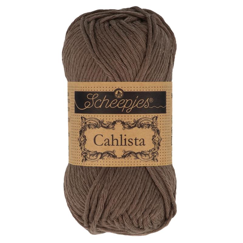 Scheepjes Cahlista 507 Chocolate