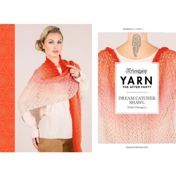 Yarn, the after party Patroon Dream Catcher Shawl nr 15
