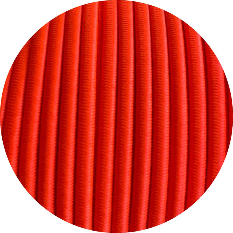 Koordelastiek 3mm Neon oranje