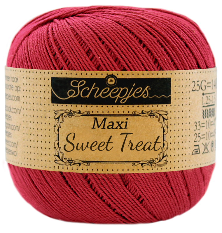 Scheepjes Maxi Sweet Treat (Bonbon) 192 Scarlet