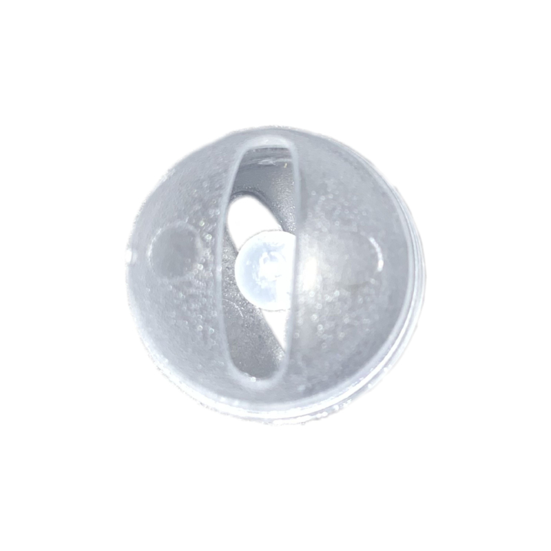 Rammelkraal 17mm transparant