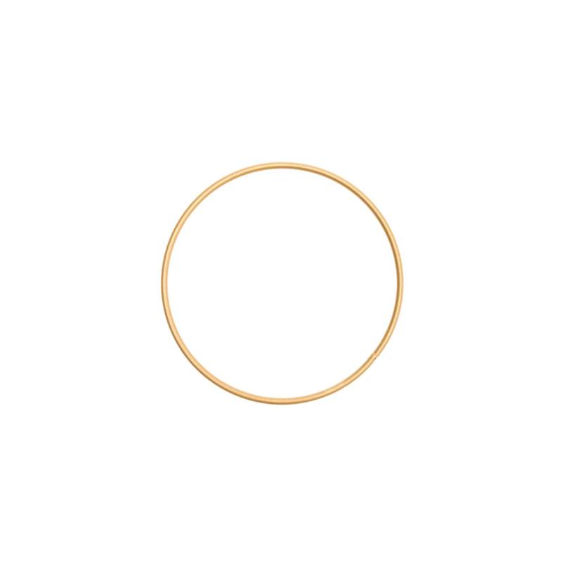 Rico Metalen ring 10cm Donkergoud