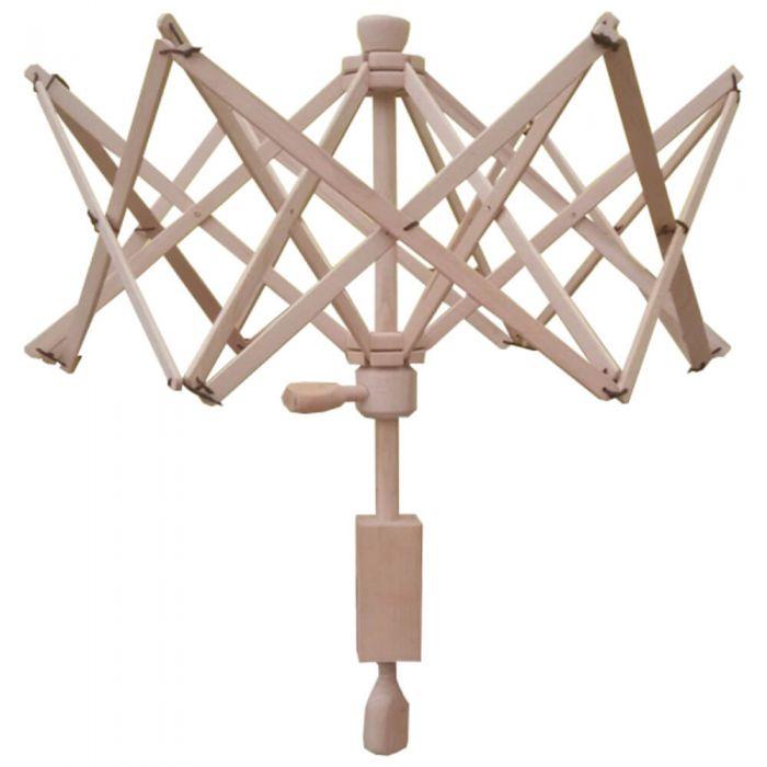 Scheepjes Parapluhaspel XL met tafelklem -beukenhout naturel