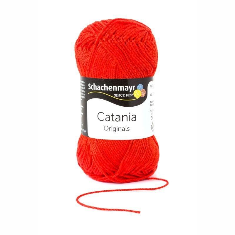 Catania katoen 390 Tomatorood