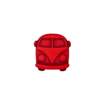 Knoop VW busje rood