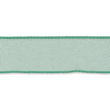 Organza lint 16mm breed Groen