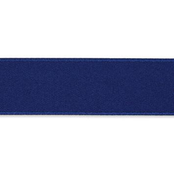 Dubbelzijdig Satijnlint  Donkerblauw