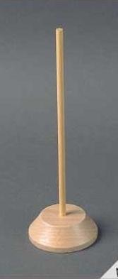 Poppenstandaard 20,5 cm hout