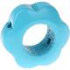 Houten bloemkraal zeegroen  ''babyproof''