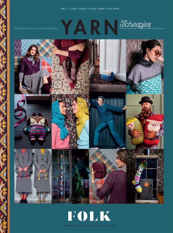 Scheepjes Yarn Bookazine 6 Folk (NL)