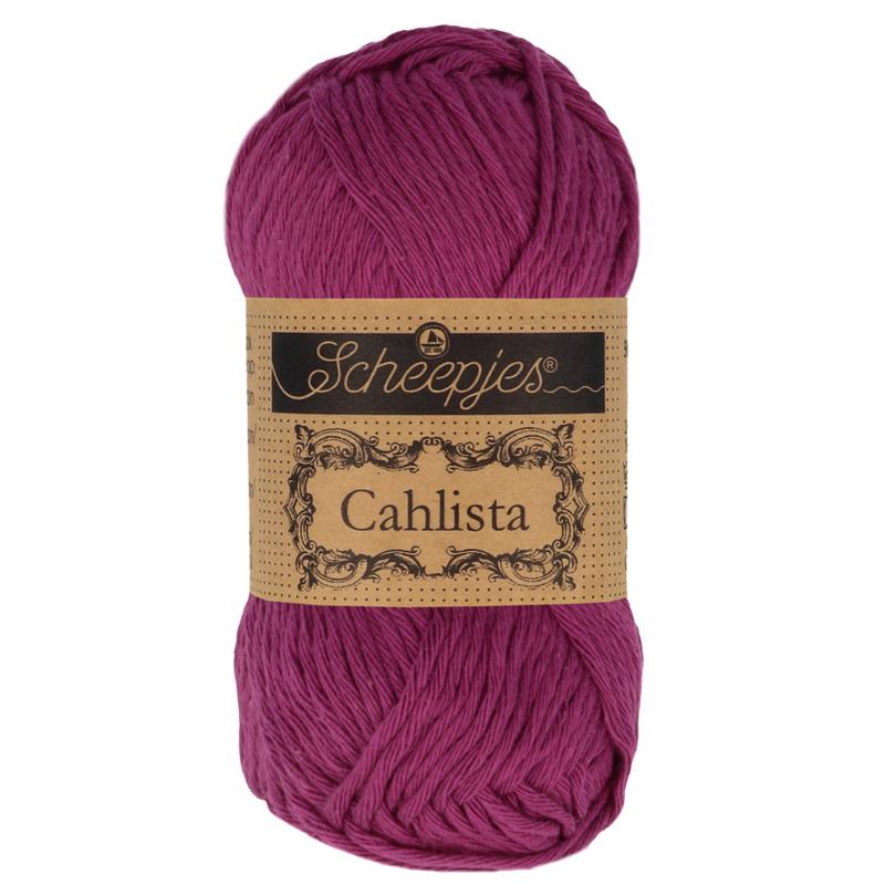 Scheepjes Cahlista 128 Tyrian Purple