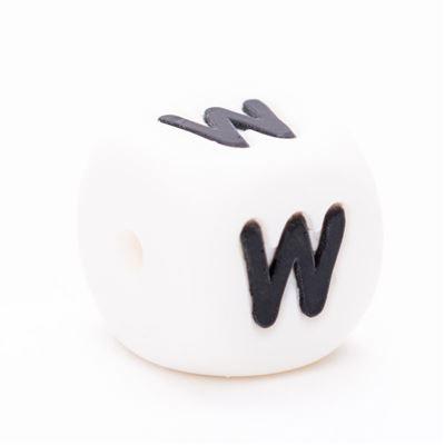 Durable Siliconen letterkraal  - W
