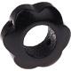 Houten bloemkraal zwart  ''babyproof''
