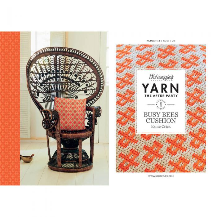 Yarn, the after party Patroon Busy Bees Cushion nr 44