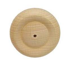 Houten wiel met profiel 40mm (per stuk)