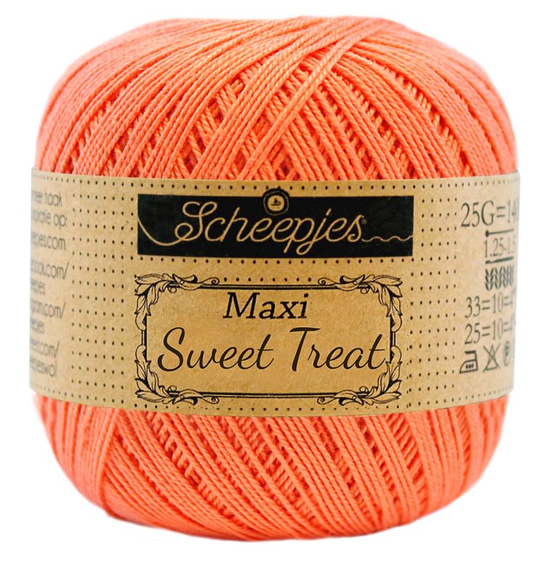 Scheepjes Maxi Sweet Treat (Bonbon)  410 Rich Coral