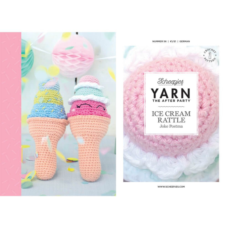 Yarn, the after party Patroon Ice Cream Rattle nr 56