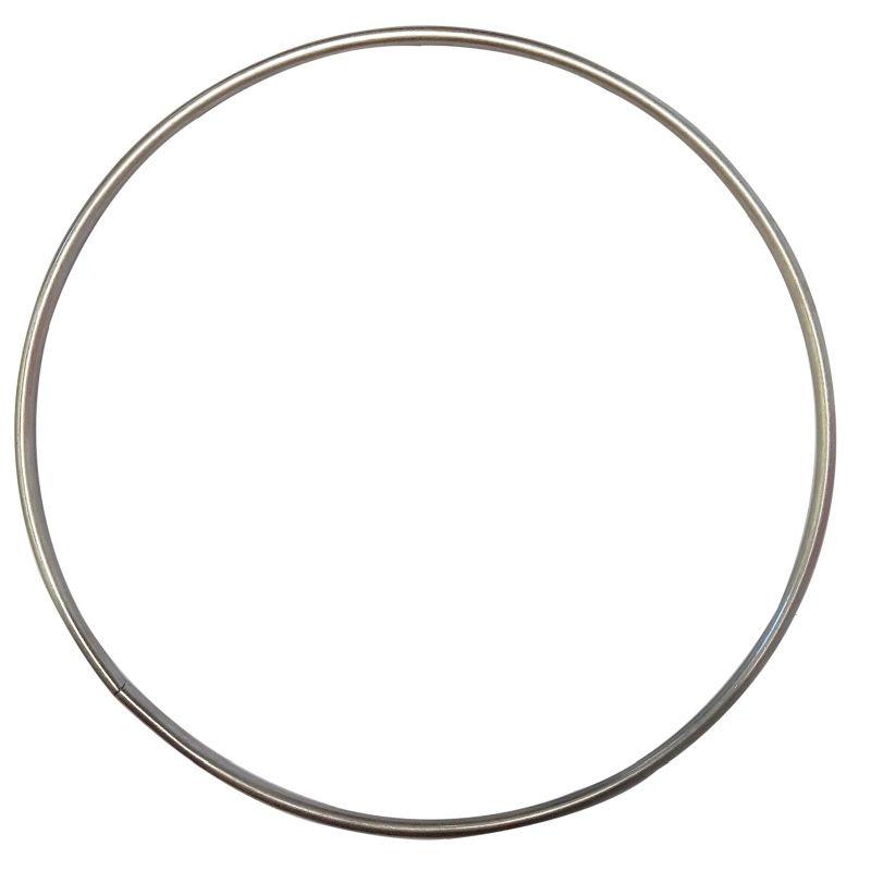 Metalen RVS ring 18,0cm doorsnee weerbestendig
