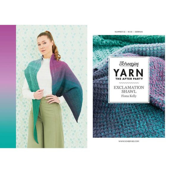 Yarn, the after party Patroon Exclamation Shawl nr 32