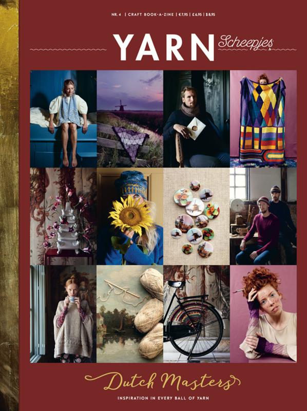 Yarn Dutch Masters Scheepjes magazine
