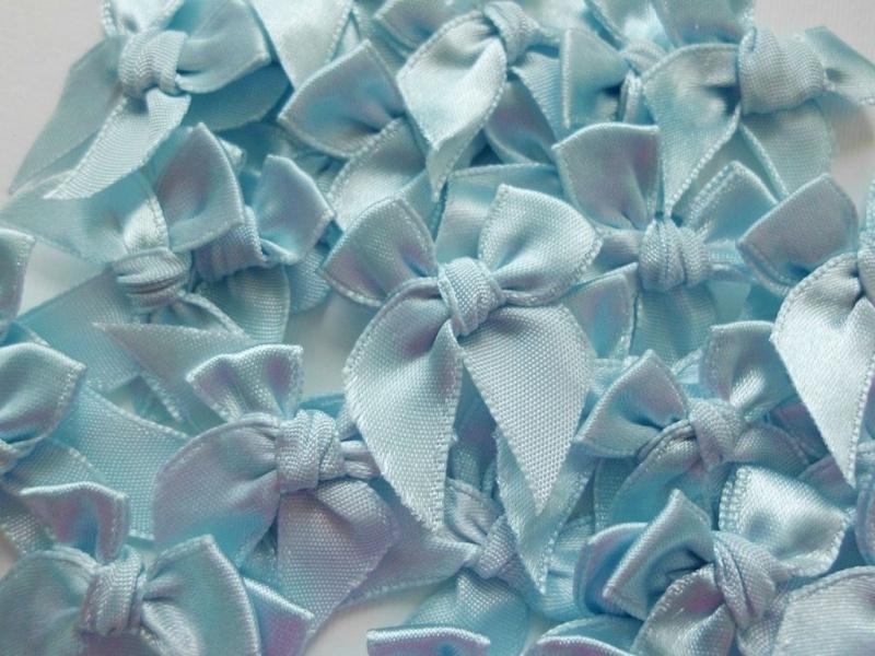 Mooi strikje Babyblauw
