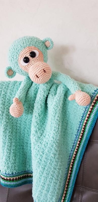 Abel aap uit Woolytoons gemaakt door Herma