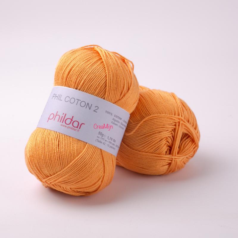 Phildar Coton 2 Melon 0070