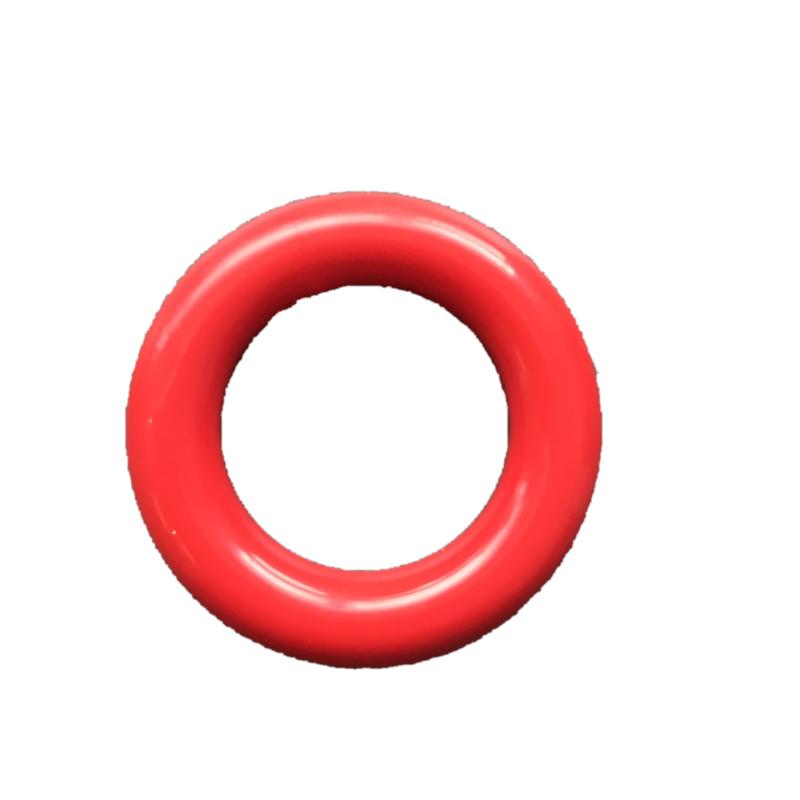 Durable Plastic ringetje 35mm Rood - 5 stuks