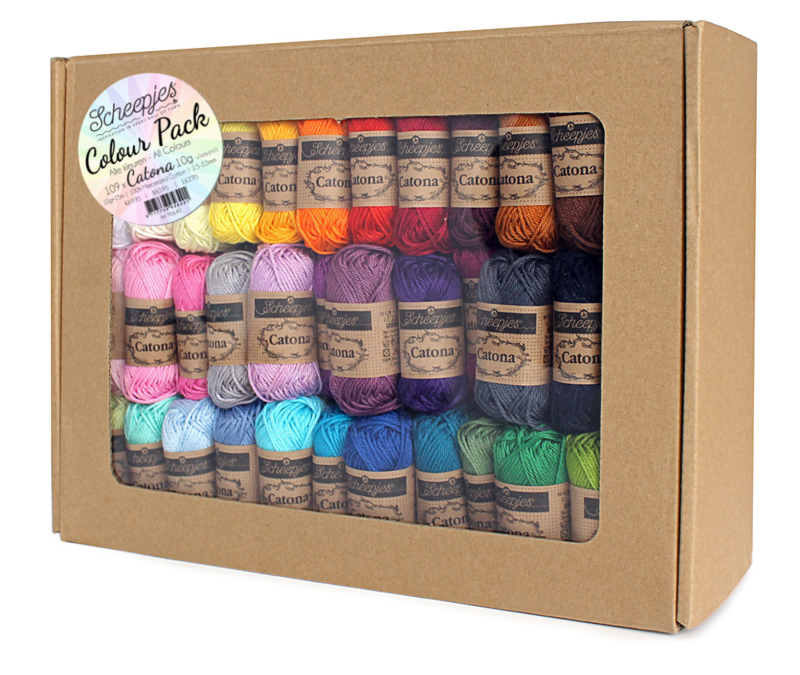 Scheepjes Catona Colour Pack 109 x 10 gram