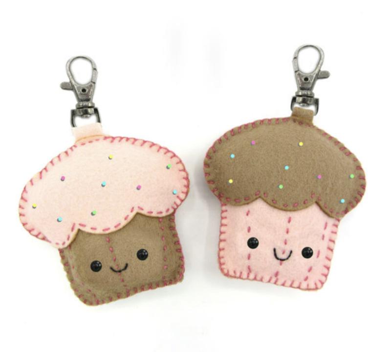 Viltpakket Cupcake hangers