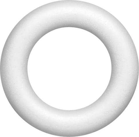 Styropor Piepschuim ring 20cm